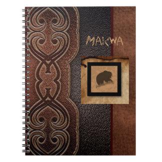 AlgonquinのMakwaくまの薬 ノートブック