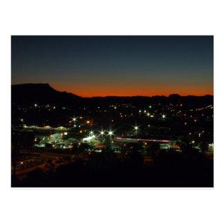 Alice Springsで夜遅く ポストカード
