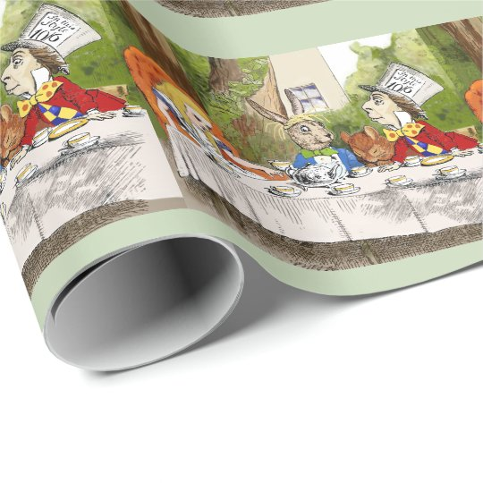 Alice's Adventures in Wonderland ラッピングペーパー