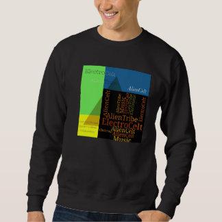 AlienCeltのピラミッドのデザインのスエットシャツ スウェットシャツ
