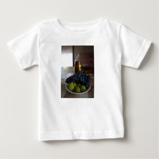 Alimena、シシリー-イタリアンな国の台所ベビーのティー ベビーTシャツ