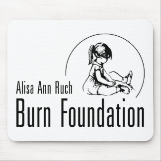 AlisaアンRuchの焼跡の基礎ギフト マウスパッド