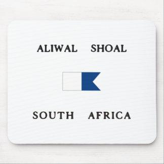 Aliwalの群れの南アフリカ共和国のアルファ飛び込みの旗 マウスパッド