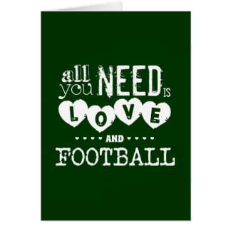 All You Need is Love and Football カード