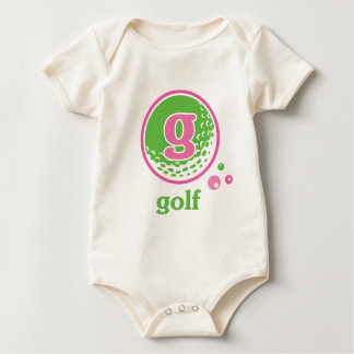 Allaireのゴルフ ベビーボディスーツ