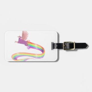 Allamacornの虹 ラゲッジタグ