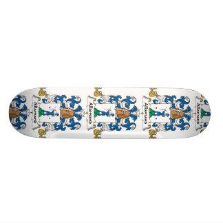 Allamandの家紋 スケートボード