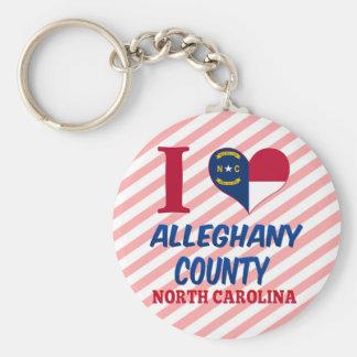Alleghany郡、ノースカロライナ キーホルダー