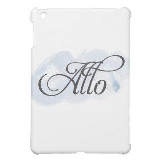 Alloフランス語 iPad Miniケース