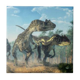Allosauruses タイル