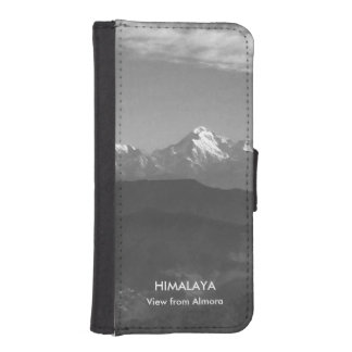 Almora 2016年の丘からのヒマラヤ山脈の山景色 iPhoneSE/5/5sウォレットケース