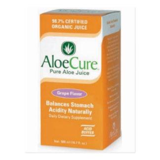 AloeCure®箱の製品種目 ポストカード