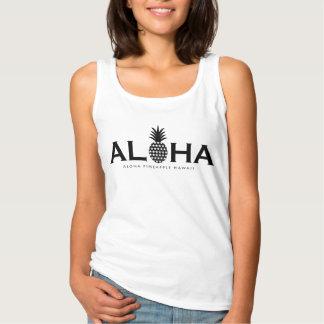 ALOHA pineapple(Black) タンクトップ