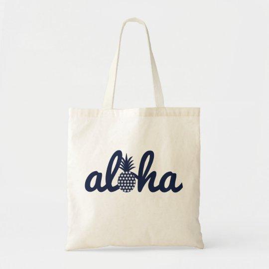 aloha star トートバッグ