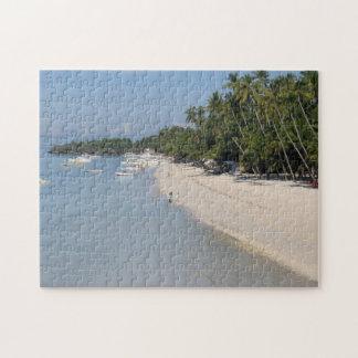 Alonaのビーチ、Panglaoの島、Bohol、フィリピン ジグソーパズル