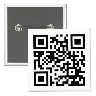 """""""AlongThoseLines.com""""ボタン 5.1cm 正方形バッジ"""