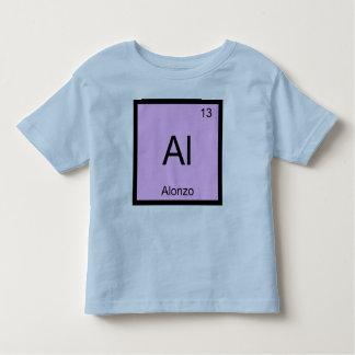Alonzo一流化学要素の周期表 トドラーTシャツ