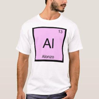Alonzo一流化学要素の周期表 Tシャツ