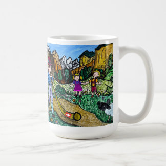 Alpenのダンス コーヒーマグカップ