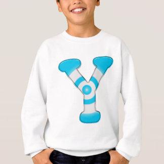 Alphabat-Y- (白い) スウェットシャツ