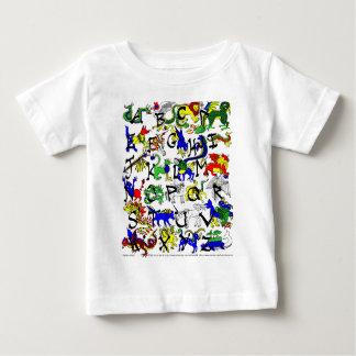Alphabestiary! ベビーTシャツ