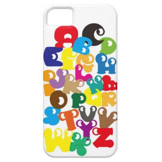 alphabet     イニシャル 英語 カラフル Colorfu Initial English iPhone SE/5/5s ケース