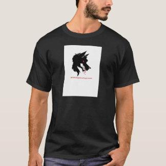 alphadoglogo tシャツ