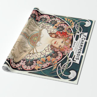 Alphonse Mucha 包装紙