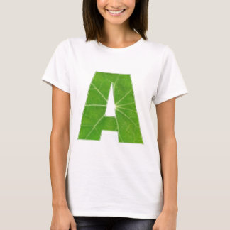 AlplhabetスープA -装飾的な母音の子音 Tシャツ
