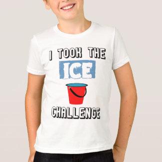 ALSのアイスペールの挑戦 Tシャツ