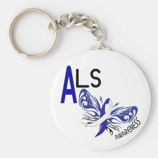 ALSの蝶3.1 キーホルダー