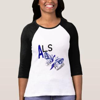 ALSの蝶3.1 Tシャツ