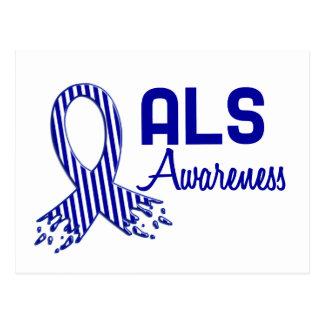 ALSの認識度 ポストカード
