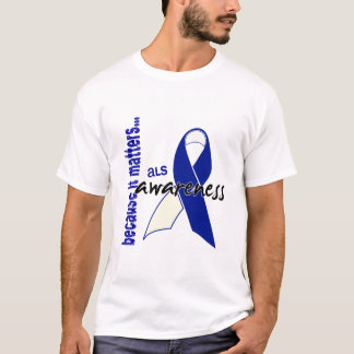 ALSの認識度 Tシャツ