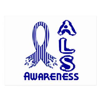 ALSの認識度F2 ポストカード