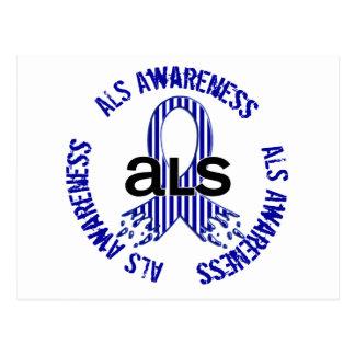 ALSの認識度F4 ポストカード
