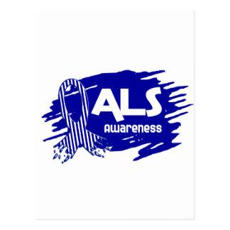 ALSの認識度F5 ポストカード