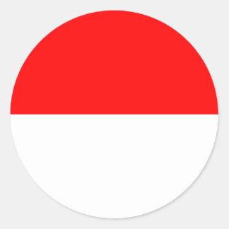 Alsace-Lorraine Flag ラウンドシール