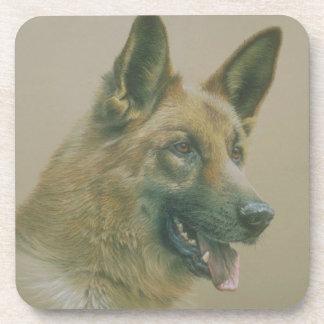 Alsation犬 コースター