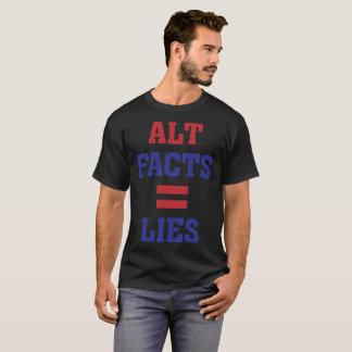 Altの事実=うそ Tシャツ