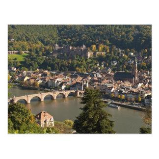 Alte Bruckeか古い橋の眺め ポストカード