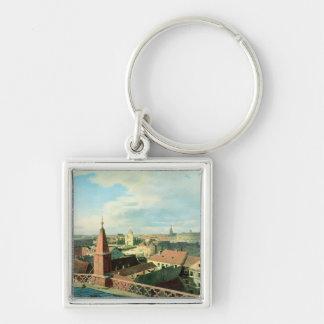 Altes博物館が付いているベルリン市の眺め キーホルダー