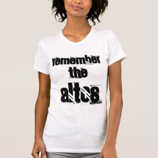 ALTOを覚えて下さい Tシャツ