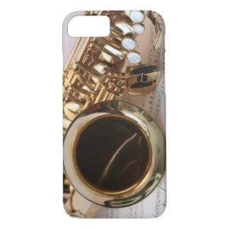ALTOサクソフォーン音楽 iPhone 7ケース