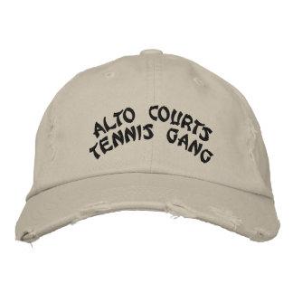 ALTO COURTStennisの集団 刺繍入りベースボールキャップ