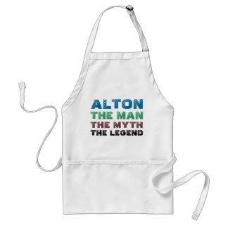 Alton人、神話伝説 スタンダードエプロン