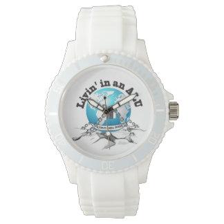 ALUの腕時計のLivin 腕時計