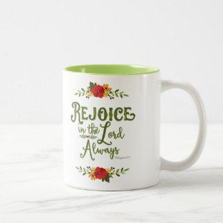 Alwaysフィル主の4:4のマグで喜ばせて下さい ツートーンマグカップ
