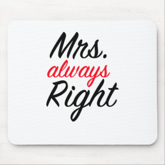 Always Right夫人のマウスパッド マウスパッド