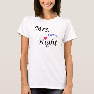 Always Right Tee夫人 Tシャツ